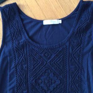 Mododoc blue maxi dress large